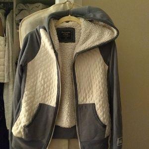 A&F hooded sweatshirt